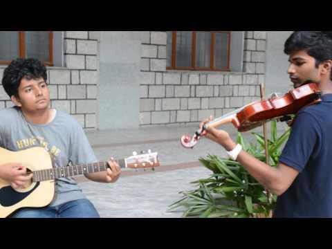 Vande Mataram Instrumental Live Cover (violin and guitar)
