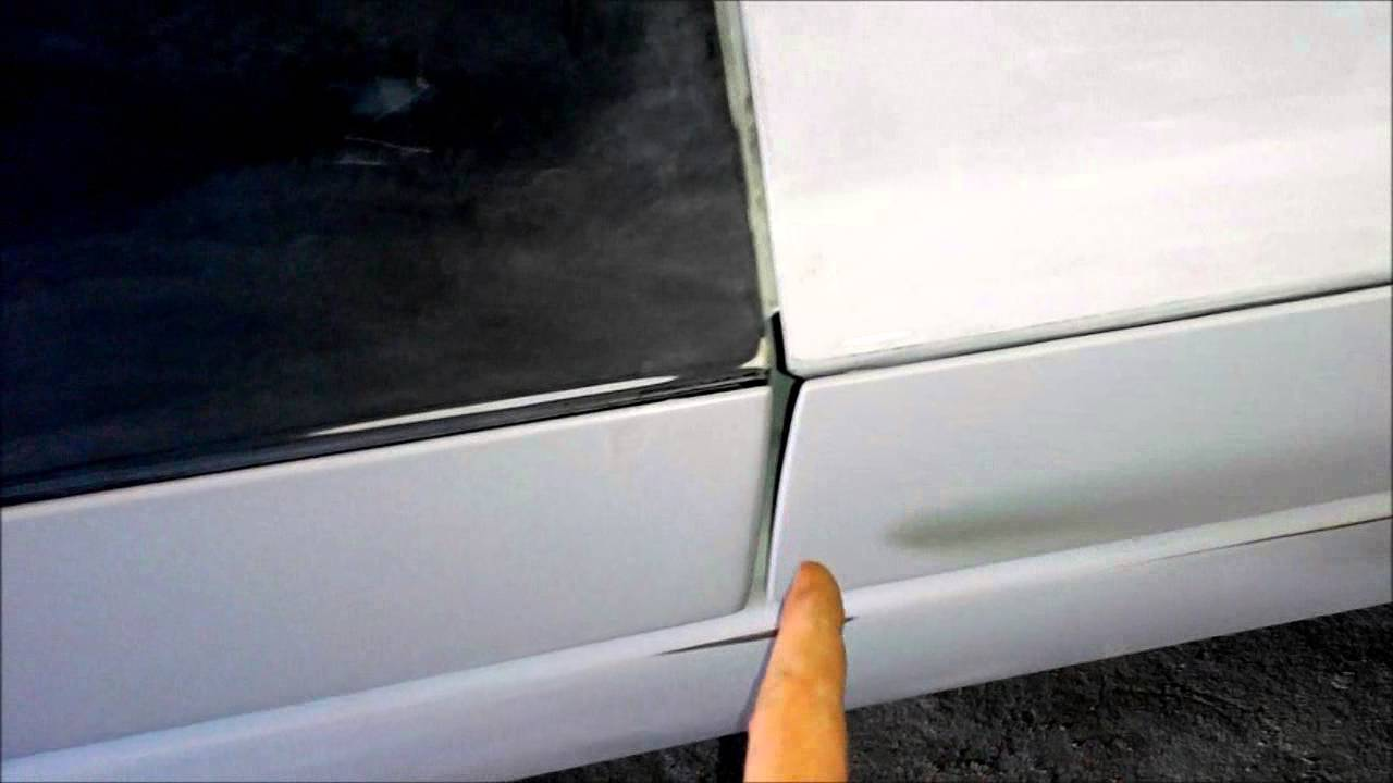 Ауди А6 Дверные накладки