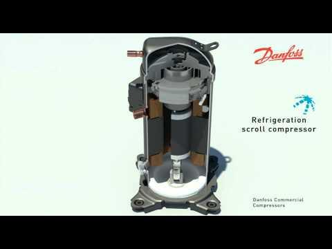 спирального компрессора