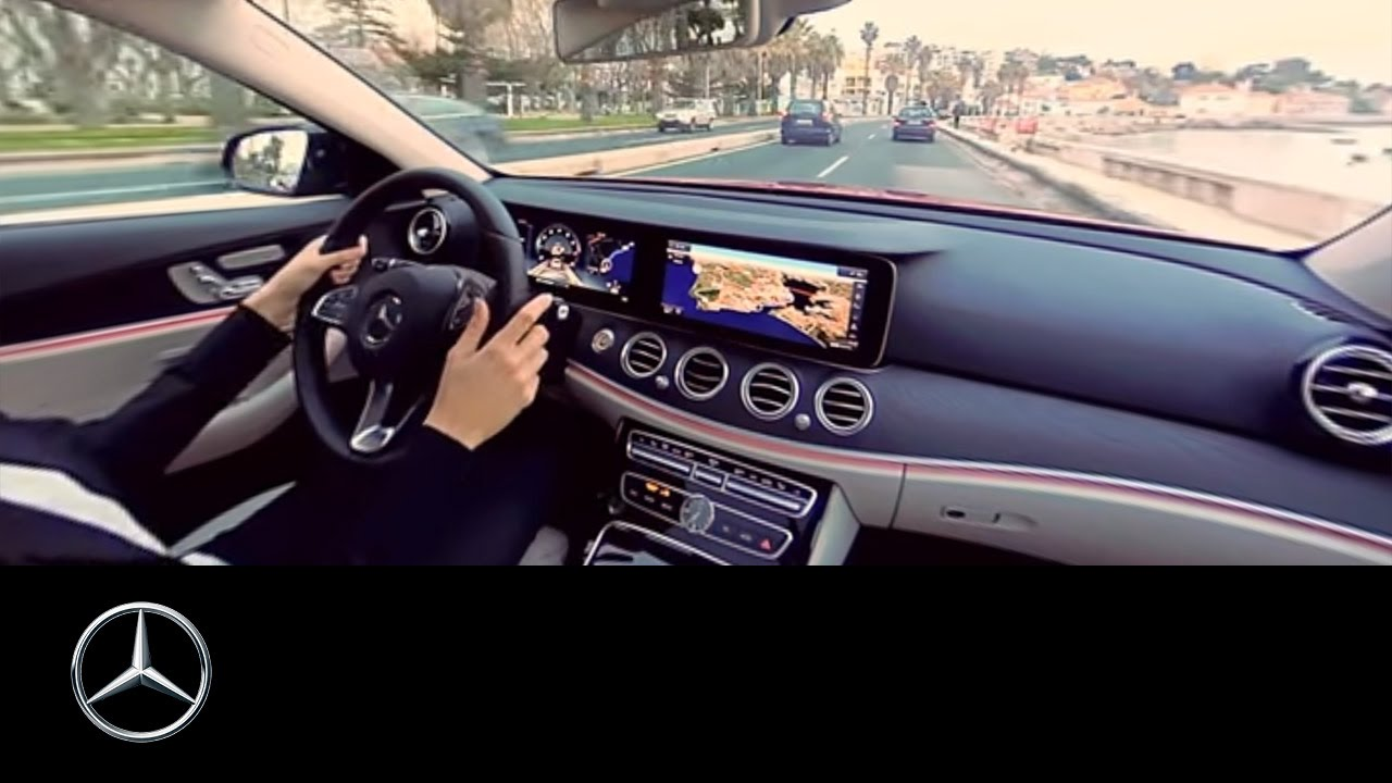 360 Video Drive In The Mercedes Benz E Class Lisbon Youtube