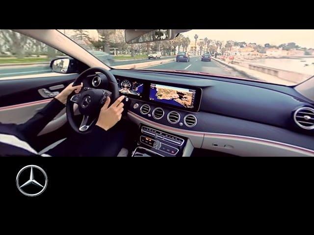 360° video drive in the Mercedes-Benz E-Class | Lisbon