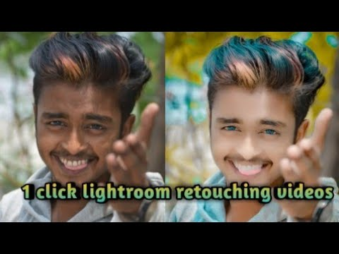 #lightroom #picart lightroom retouching tutorial videos /how to clean your face /by Danny Roy
