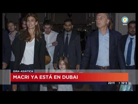 TV Pública Noticias - Macri ya está en Dubai