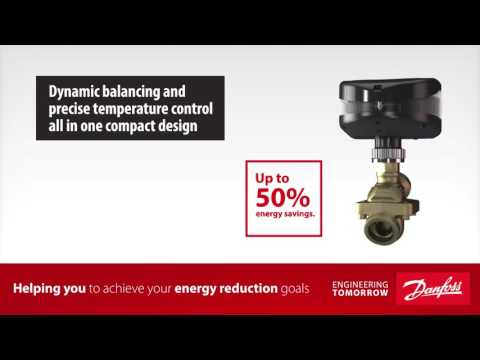 Energy Reduction with AB-QM™ - Pressure Independent Control Valve