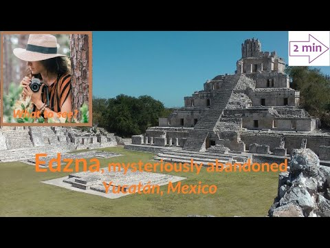 WHAT TO SEE in Edzna, mysteriously abandoned, Yucatan, Mexico (2 min. in North America Collection)