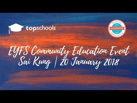 EYFS Community Education Event: Nord Anglia International School (NAIS)