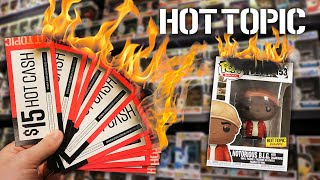 50% Off Everything at Hot Topic   Hot Cash Funko Pop Hunting!