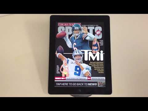 Chicago Sun Times Daily Interactive Newspaper App