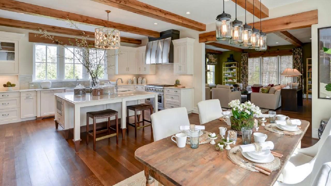 American Farmhouse Interior Design Images - YouTube
