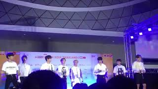 Cover images 190929 StrayKids random play dance to TWICE,GOT7,ITZY,JYP @ KCON2019THAILAND