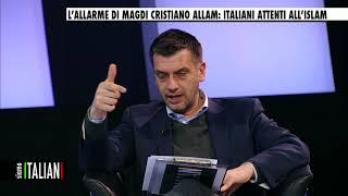 SIAMO ITALIANI -  18 gennaio 2018 - L'ALLARME DI MAGDI CRISTIANO ALLAM: ITALIANI ATTENTI ALL'ISLAM