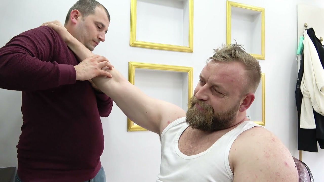 ASMR Head Massage | Face Massage | Body Massage By Turkish Barber