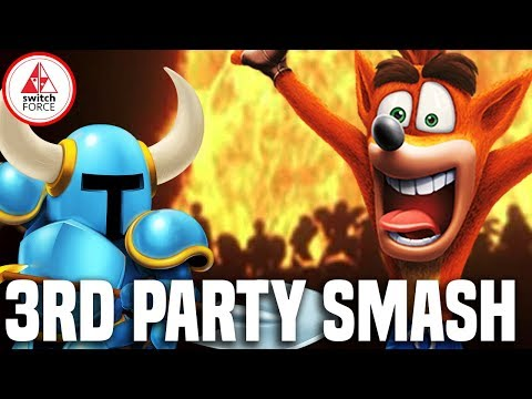 Super Smash Bros Switch - 5 Third Party Characters That Make Sense!