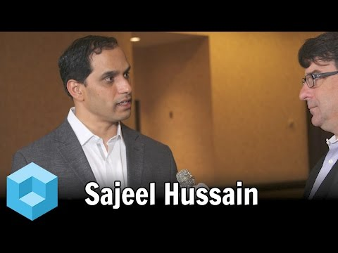Sajeel Hussain, CafeX - Enterprise Connect 2016 - #EC16 - #theCUBE