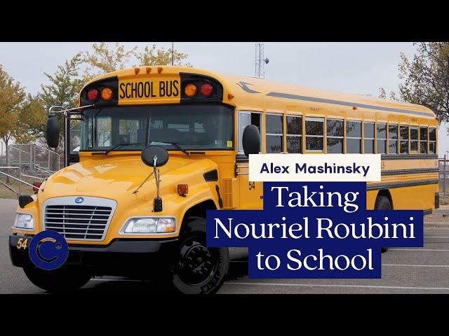 Remember when Alex schooled Nouriel Roubini? August 2018
