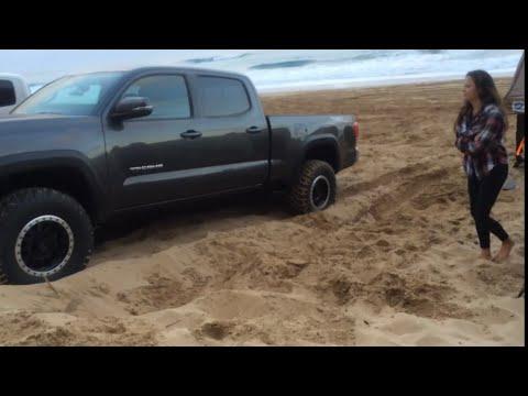 2016 Toyota Tacoma Crawl Control Demo In Soft Hawaii Sand