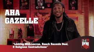 Aha Gazelle - Linking With Lecrae, Reach Records Deal, & Religious Contradictions (247HH Exclusive)