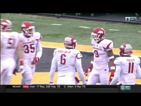 2016 Arkansas at Mizzou