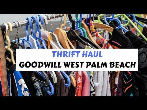Thrift Haul: Goodwill West Palm Beach
