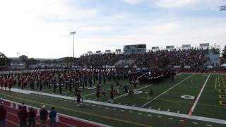 Liberty/Freedom Game Pre-Game Band Show