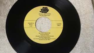 The Supernals - Rodney & Richard Kittleman - He Touched Me (Instrumental Gaither Classic)  1975
