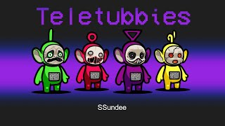 *NEW* TELETUBBIES SCARY Role in Among Us