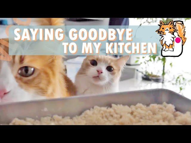 Saying goodbye to my kitchen!