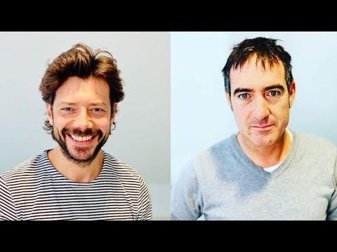 Money Heist & The Pier's Álvaro Morte & Álex Pina