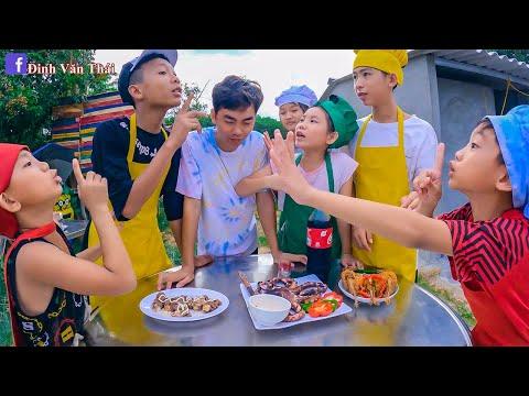 Thái Chuối | Đại Chiến Vua Đầu Bếp - Nấu Ăn Theo Trên Trời, Dưới Biển & Mặt Đất
