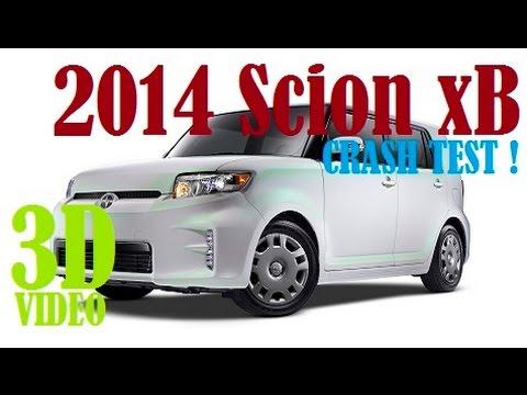 2014 Scion xB IIHS Crash Test [3D]