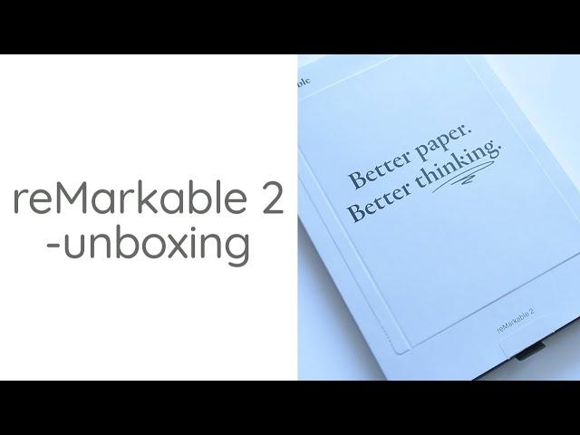 Czytnik jak prawdziwy papier, czyli unboxing reMarkable 2