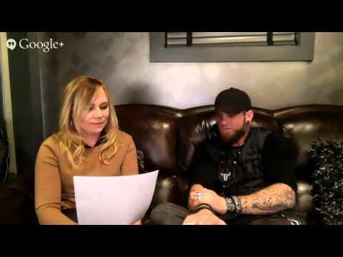 Brantley Gilbert Google+ Video Hangout