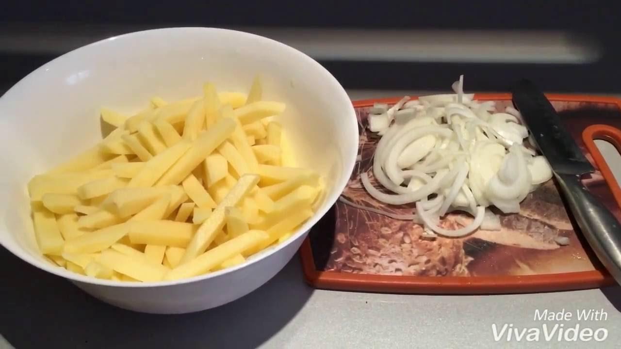 как вкусно и быстро пожарить картошку