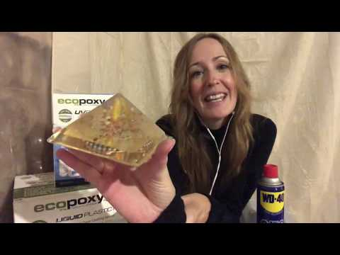 Orgonite Pyramid Making with Epoxy Resin Tips & Tricks - Orgonite Newbie Video Series