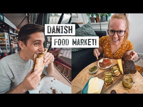 Copenhagen's BEST Food Market Tour! + Making Our Own Danish Smørrebrød
