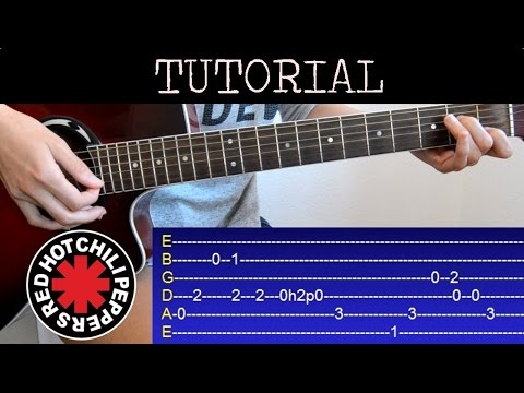 Como Tocar Californication De Los Red Hot Chili Peppers Tutorial