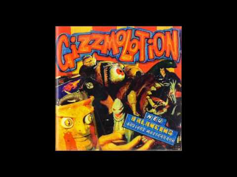 Gizzmolotion - balancing - 1995 - CD complete - funky hiphop