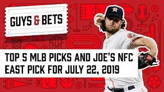 Guys & Bets: Top 5 Major League Baseball Picks and Joe's NFC East Pick thumbnail