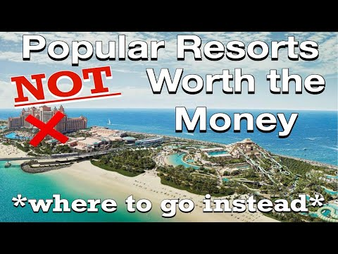 10 Popular Resorts NOT Worth Your Money! *where to go instead*