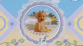 Детский фотоальбом (анимационное слайд шоу - образец)