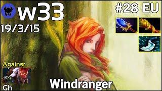 w33 [CHAOS] plays Windranger!!! Dota 2 7.20