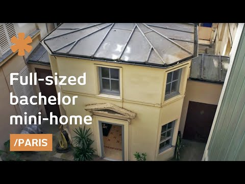 Dollhouse Paris: a miniature home as bachelor pad in Pigalle