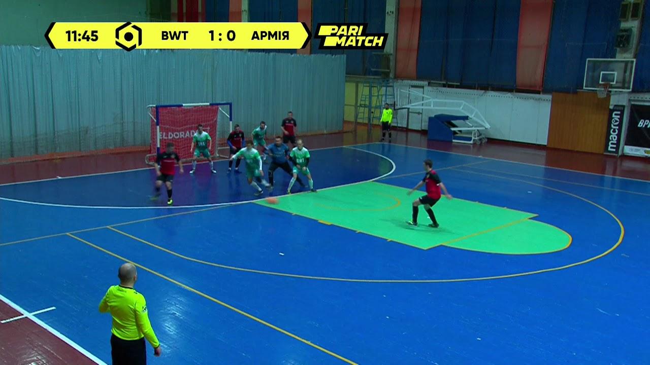 Матч повністю | BWT 1 : 2 ФК Армія