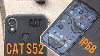 А что он может на свои $600? Обзор смартфона CAT S52. Воды и грязи не боится!