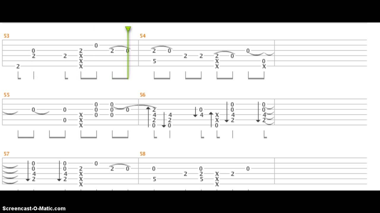 how to play let her go on ukulele tabs