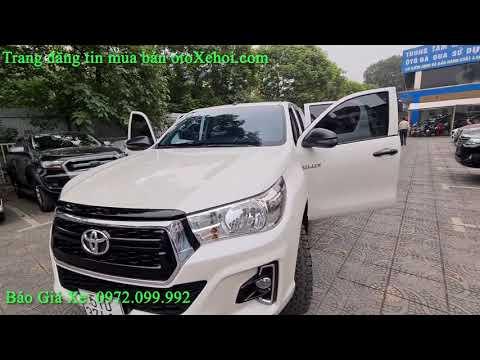 Bán xe ô tô cũ bán tải Toyota Hilux sx 2019 nhập khẩu