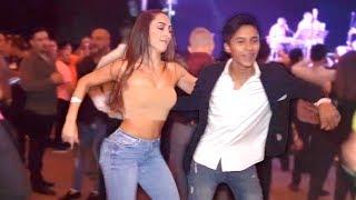 Increibles salseros bailando con Mercado Negro | Euroson Latino 2019
