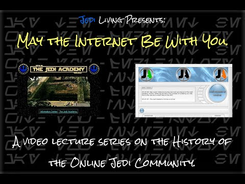 May the Internet Be With You - Week 1 Jedi Academy on Yavin 4