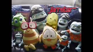 Jamster/Jamba Ringtone Characters! 2005 (Crazy Frog, Sweety Chick, Nessie The Dragon, Party Bee)