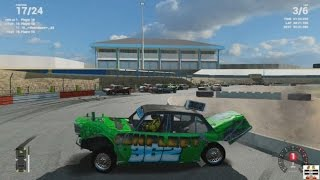 Childhood Dream Game Now A Reality! Banger Racing Mod - Wreckfest